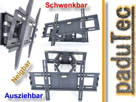 tv wandhalterung halterung schwenkbar neigbar f r samsung ue46es8080 ebay. Black Bedroom Furniture Sets. Home Design Ideas