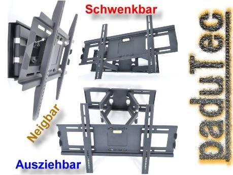 lcd wandhalterung schwenkbar sony bravia kdl 32ex40b 32ex500 32ex505 ebay. Black Bedroom Furniture Sets. Home Design Ideas