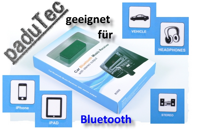 Audio-Bluetoot?h-Adapter Kfz für Audi 80